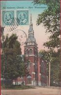 St. Andrews Church New Westminster British Columbia Canada (damaged) - Colombie Britannique