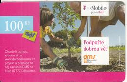 CZECH REPUBLIC - T Mobile Prepaid Card 100 Kc, Exp.date 14/12/12, Used - Czech Republic