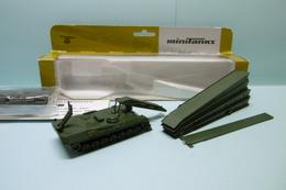 Roco Minitanks - PONT MOBILE BLINDE TYPE BIBER Brückenlegepanzer Réf. 427 Militaire Neuf NBO HO 1/87 - Véhicules Routiers