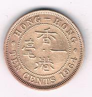 10 CENTS 1964 HONKONG /1337/ - Hong Kong
