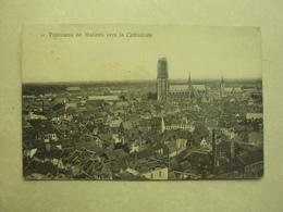 30569 - MALINES - PANORAMA VERS LA CATHEDRALE - ZIE 2 FOTO'S - Mechelen
