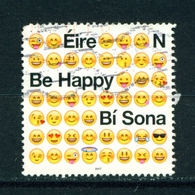 IRELAND - 2017 Be Happy 'N'  Used As Scan - 1949-... Republic Of Ireland