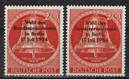 Berlin 1954 // Mi. 118 ** 2x - Nuevos