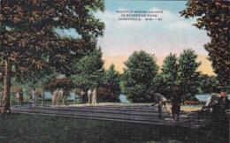 Wisconsin Janesville Riverside Park Shuffleboard Courts - Janesville