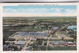 Wisconsin Janesville Aerial View Of Chevrolet Motor Company - Janesville
