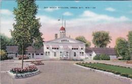 Wisconsin Green Bay Bay Beach Pavilion 1941 - Green Bay