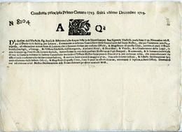 Venetian Republic. AQ Letter Sheet. VF. - Italy
