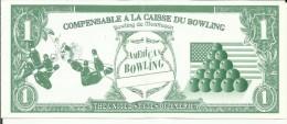 "03 . MONTLUCON . BOWLING "" AMERICAN BOWLING . BILLET DE FIDELITE - Montlucon"