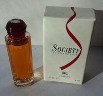 Society By Burberry Miniature Parfum 4ml - Miniatures Modernes (à Partir De 1961)
