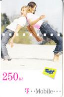 CZECH REPUBLIC - 2 Girls, T Mobile/Twist Prepaid Card 250 Kc, Exp.date 02/09/14, Used - Czech Republic