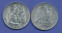 Bundesrepublik 5DM Gedenkmünze 1979, Walther Von Der Vogelweide - [ 7] 1949-… : FRG - Fed. Rep. Germany