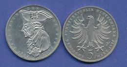 Bundesrepublik 5DM Gedenkmünze 1986, Friedrich Der Große - [ 7] 1949-…: BRD