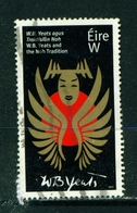 IRELAND - 2017 WB Yeats 'W'  Used As Scan - 1949-... Republic Of Ireland