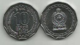 Sri Lanka 10 Rupees 2016. UNC  KM#181a - Sri Lanka