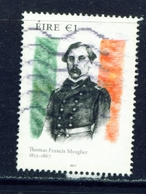 IRELAND - 2017 Thomas Francis Meagher 1 Euro  Used As Scan - 1949-... Republic Of Ireland