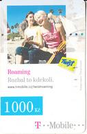 CZECH REPUBLIC - 2 Girls, Roaming, T Mobile/Twist Prepaid Card 1000 Kc, Exp.date 28/07/10, Used - Czech Republic