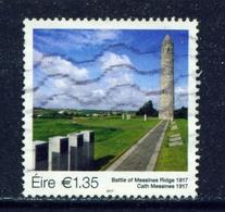 IRELAND - 2017 Battle Of Messines Ridge 1.35 Euro  Used As Scan - 1949-... Republic Of Ireland