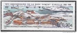 TAAF 2006 Yvert 441 Neuf ** Cote (2015) 3.60 Euro Vue De La Base Dumont D'Urville - Terres Australes Et Antarctiques Françaises (TAAF)