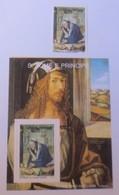 São Tomé  Príncipe  Block 222 U. Marke Weihnachten  A.Dürer 1989  Xx ♥ (72389) - São Tomé Und Príncipe