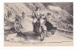 6 Jours De Grenoble 1920.Gex,sur Motosacoche,Pneus HUTCHINSON.Médaille D'Or.Médaille Du T.C.F.Automobile. - Sport Moto