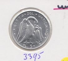 @Y@  Vaticaanstad  5 Lire   1976   Unc      (3395) - Vaticaanstad
