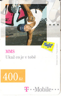 CZECH REPUBLIC - MMS, T Mobile/Twist Prepaid Card 400 Kc, Exp.date 20/10/10, Used - Czech Republic
