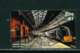 IRELAND - 2017 Railway Stations 1 Euro  Used As Scan - 1949-... République D'Irlande