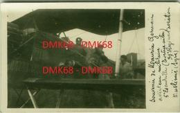 MAURICE GERMAIN - PLANE -PILOT AVIATEUR MILITAIRE - 39 REGIMENT AVIATION MUSLIMIE SYRIE - AUTOGRAPH - RPPC 1926 (BG2506) - 1919-1938: Entre Guerres