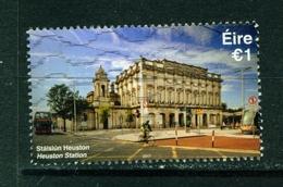 IRELAND - 2017 Railway Stations 1 Euro  Used As Scan - 1949-... Republic Of Ireland