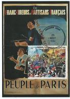 Carte Postale 1er Jour Madagasikara FDC Peuple De Paris 1994 - Madagascar (1960-...)