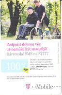 CZECH REPUBLIC - Centrum Paraple, T Mobile/Twist Prepaid Card 100 Kc, Exp.date 06/07/11, Used - Czech Republic