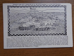 Fondation De L'Abbaye ND De Scourmont A L'Ile De Caldey -> Onbeschreven - Chimay