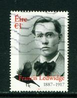 IRELAND - 2017 Francis Ledwidge 1 Euro  Used As Scan - Used Stamps