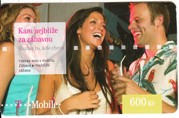 CZECH REPUBLIC - People, T Mobile Prepaid Card 600 Kc, Exp.date 03/10/11, Used - Czech Republic