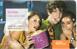 CZECH REPUBLIC - Do Kina, T Mobile Prepaid Card 400 Kc, Exp.date 06/09/12, Used - Czech Republic