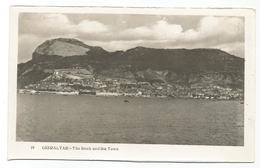 W1145 Gibraltar - The Rock And The Town / Non Viaggiata - Gibilterra