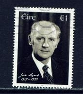 IRELAND - 2017 Jack Lynch 1 Euro  Used As Scan - 1949-... Republic Of Ireland