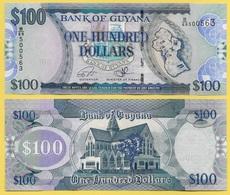 Guyana 100 Dollars P-36b(2) 2012 UNC - Guyana