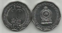 Sri Lanka 10 Rupees 2013. High Grade - Sri Lanka