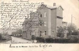 Bords De La Meuse - Rue De L'Eau (animée, 1904, Vers Prusse Rhénane) - Waremme
