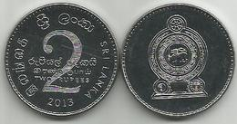 Sri Lanka 2 Rupees 2013. High Grade - Sri Lanka