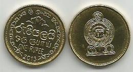 Sri Lanka 1 Rupee 2013. High Grade - Sri Lanka