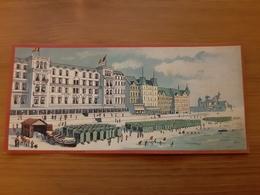 Chromo Cie Int. Des Grands Hôtels Grand Hôtel De La Plage (Ostende) Ateliers Hugo D'Alési, 5, Place Pigalle, Paris - Autres
