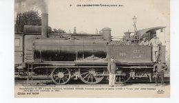 LES LOCOMOTIVES (Est) Machine N° 269 Pour Tramways Construite En 1867. - Trains