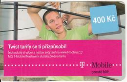 CZECH REPUBLIC - Twist Tarify Se Ti Prizpusobi, T Telecom Prepaid Card 400 Kc, Exp.date 24/02/14, Used - Czech Republic