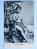 C.P.A. : SAMOA : A Samoan Beauty, Topless,  SUPERBE - Samoa