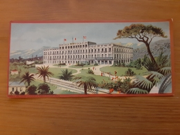 Chromo Cie Int. Des Grands Hôtels Riviera Palace Nice Ateliers Hugo D'Alési, 5, Place Pigalle, Paris - Autres