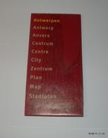 Belgium: Antwerp. Folded Map Of Antwerp (Anvers). Fine Condition. - Cartes