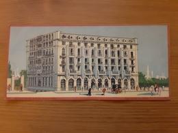Chromo Cie Int. Des Grands Hôtels PERA-PALACE Constantinople Ateliers Hugo D'Alési, 5, Place Pigalle, Paris - Other
