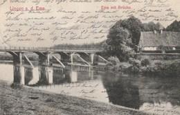 Lingen A. D; Ems - Ems Mit Brücke - Lingen